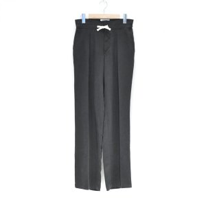 RICE NINE TEN(ライス ナイン テン) / LYOCELL WIDE TUCK PANTS (BLACK)|pop5151