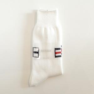 ROSTER SOX(ロスターソックス) / Marine Flag (WHITE)|pop5151