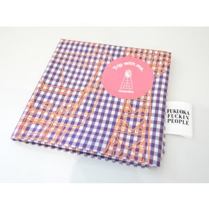 Anoraks / Trip with me. handkerchief -FUKUOKA- pop5151