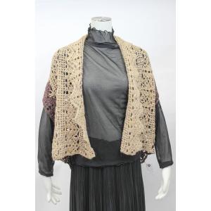 かぎ針編みのツーウェイベスト|poplar