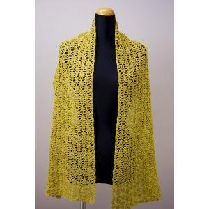 かぎ針のショール 編み図付|poplar