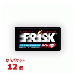 クラシエ フリスク(FRISK)50粒 ブラックミント12個セット popmart