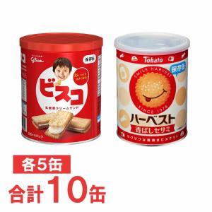 グリコ ビスコ保存缶×5缶 & 東ハト ハーベ...の関連商品9