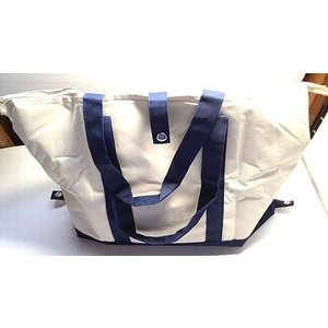 【在庫処分品】2WAYクーラーバッグ 紺色 (保温・保冷機能付)|popola-soniashop