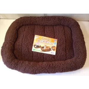 【在庫処分品】ふんわりあごのせベッド ブラウン Lサイズ |popola-soniashop