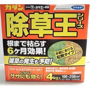 【在庫処分品】カダン除草王シリーズ オールキラー粒剤 4kg 有効年月2019年2月