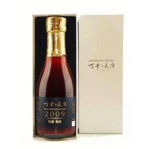 梅酒 敬老の日 高級 夏ギフト 高級レストランで採用される 12年長期熟成 『古昔の美酒 2009 松藤梅酒』パールホワイトパッケージ【300限定】|poppingstand