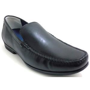 リーガル REGAL 靴 メンズ ドライビングシューズ 56HR スリッポン ヴァンプ ブラック