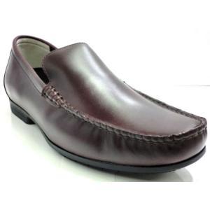 リーガル REGAL 靴 メンズ ドライビングシューズ 56HR スリッポン ヴァンプ ワイン