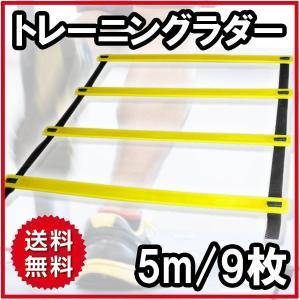 トレーニングラダー 5メートル プレート9枚...