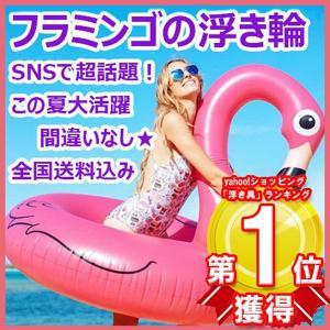 浮き輪 フロート 120cm フラミンゴ 大人用 SNS インスタ映え 海 プール リゾート セレブ アウトドア レジャー