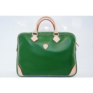 【DIRIGENTE A.green(ディリジェンテ A.グリーン/緑)】イタリア製 本革 トリバレ ビジネスバッグ P25Apr15|portarossa