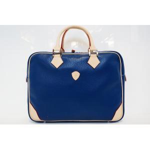 【DIRIGENTE A.blue(ディリジェンテ A.ブルー/青)】イタリア製 本革 トリバレ ビジネスバッグ P25Apr15|portarossa