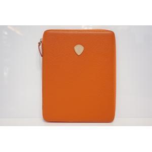 TRIVALENTE ipadCASE ORANGE トリヴァレンテ i-padケース アイパッドケース カバー  オレンジ タブレットケース ノートブックケース クラッチ イタリア |portarossa
