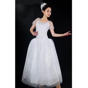 バレエ リトルスワン レオタード ドレス 女性 ダンス ステージ衣装 バレエ形体服 レディースのダン...