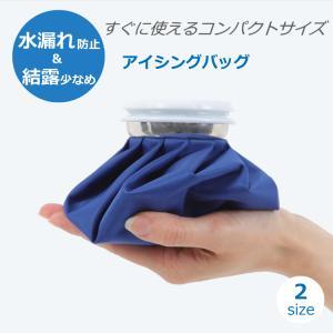 アイシングバッグに氷と水を入れれば、すぐに患部の冷却ができます!  ケガの応急処置や熱中症予防、アウ...