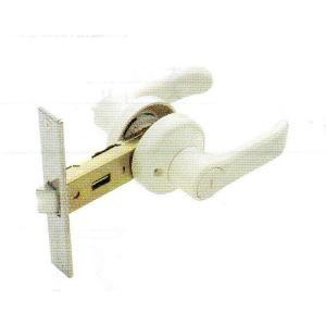 アルファ レバーハンドル浴室錠 32M65PLV-100 アイボリー