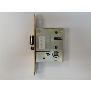 GOAL レバーハンドル消音錠 LYS 本体ケースのみ フロント楕円タイプ 金色|porttown-market