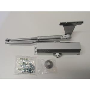 ドアクローザ ニュースター P182AK ストップ付き パラレル型  段付きブラケット(A) 段付きアーム(K)