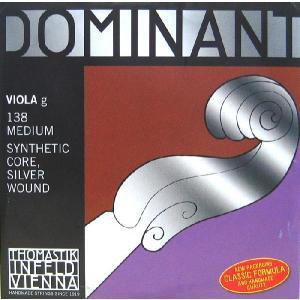 Dominant ドミナントビオラ弦 3G(138) 【メール便対応商品】|positive