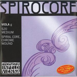 Spirocore スピロコアビオラ弦 3G(S-20) 【メール便対応商品】|positive