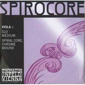 Spirocore スピロコアビオラ弦 4C(S-22) 【メール便対応商品】|positive
