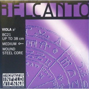 Belcant ベルカント ビオラ弦 1A(BC21) 【メール便対応商品】|positive
