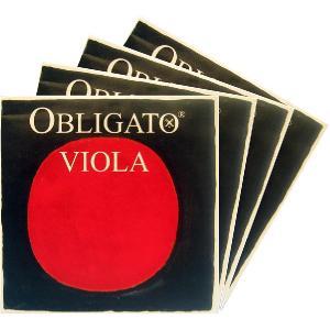 PIRASTRO Obligato オブリガートビオラ弦 SET 【メール便対応商品】|positive