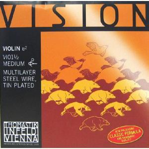 Vision ヴィジョンバイオリン弦 1E 1/2〜1/16サイズ(VI01) 【メール便対応商品】 positive