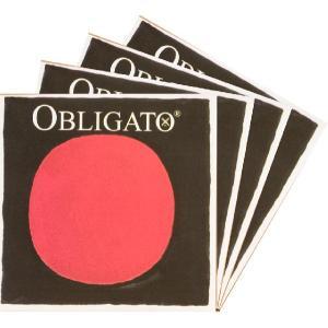 PIRASTRO Obligato オブリガートバイオリン弦 SET (1E=ゴールドスチール) 【メール便対応商品】 positive