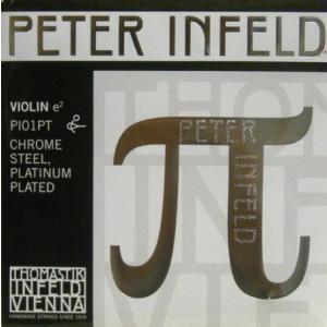 PETER Infeld ペーターインフェルド バイオリン弦 1E プラチナメッキ(21110) 【メール便対応商品】