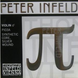 PETER Infeld ペーターインフェルド バイオリン弦 3D シルバー(21115) 【メール便対応商品】
