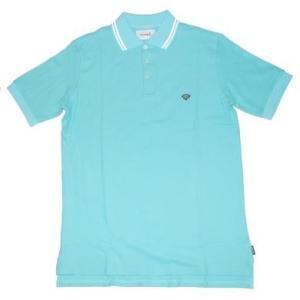 Possibility diamond supply co stripe collar polo shirts for Diamond supply co polo shirts