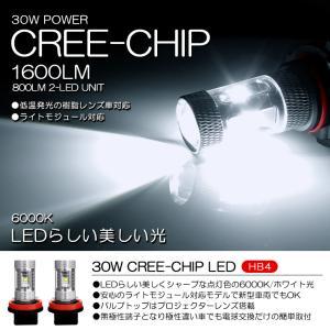 GSE20系 前期 中期 レクサス LEXUS IS250 IS350 LED フォグランプ HB4 30W CREE 6000K/ホワイト 2個/1セット|possible