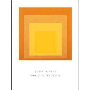 -アルバース-正方形へのオマージュ 600×800mm アートポスター -おしゃれインテリアに- poster