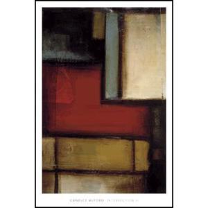 -アルフォード-交差II(610×915mm) アートポスター -おしゃれインテリアに- poster