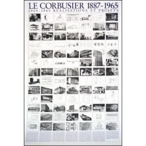 【ル・コルビュジエ ポスター】計画と達成(70cm×100cm)|poster