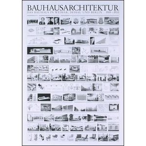【バウハウス ポスター】バウハウスの建築物(70cm×100cm)|poster