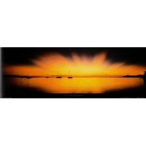 ポスター タヒチ パペーテ 33cm×95cm 海 -おしゃれインテリアに-|poster