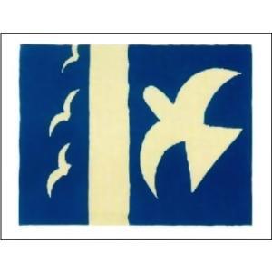 -ジョルジュ・ブラック アートポスター-鳥 1955年(40cm×50cm) -おしゃれインテリアに-|poster