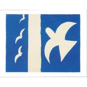 【ジョルジュ・ブラック ポスター】鳥 1955年(60cm×80cm) poster