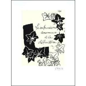 -ジョルジュ・ブラック アートポスター-Le Conformisime,1917-1947(450×600mm)-リトグラフ- -おしゃれインテリアに-|poster