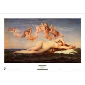 【アートポスター】 ヴィーナスの誕生 574×878mm 天使・ルネッサンス|poster