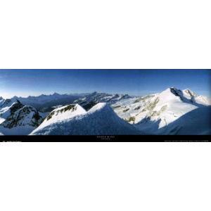 ポスター Monte Rosa 33cm×95cm 自然 -おしゃれインテリアに-|poster
