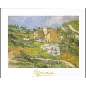 -アートポスター- プロヴァンスの家 (50cm×70cm) ポール・セザンヌ -おしゃれインテリアに- poster
