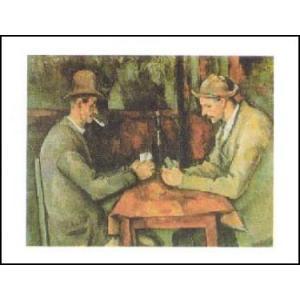 -アートポスター- トランプをする男たち (50cm×70cm) ポール・セザンヌ -おしゃれインテリアに- poster