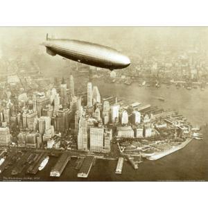 ポスター The Hindenburg Airship 1936 60cm×80cm -おしゃれインテリアに-|poster