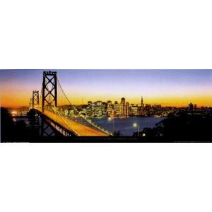 -フォトポスター- サンフランシスコ 33cm×95cm 街 -おしゃれインテリアに-|poster