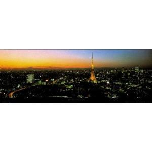 -フォトポスター- 東京 33cm×95cm 街 -おしゃれインテリアに-|poster