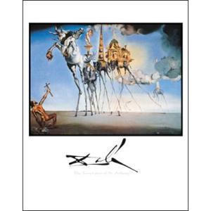 【ダリ アートポスター】セント・アンソニーの誘惑(560×710mm)|poster